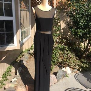 Xscape illusion gown
